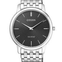 Citizen Stiletto Steel 40mm Black No numerals