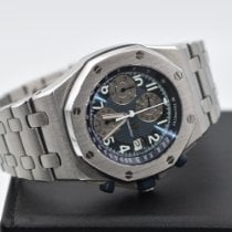 Audemars Piguet Royal Oak Offshore Chronograph pre-owned 42mm Blue Chronograph Date Steel