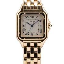 Cartier подержанные Кварцевые 27mm Белый Сапфировое стекло 3 атм