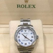 Rolex Oyster Perpetual 31 usados 31mm Blanco Acero