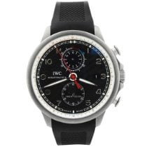 IWC Portuguese Yacht Club Chronograph Titanium 45mm Black Arabic numerals United States of America, California, Fullerton