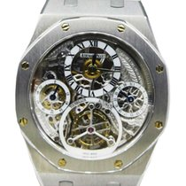 Audemars Piguet Royal Oak Tourbillon pre-owned 40mm Tourbillon Platinum
