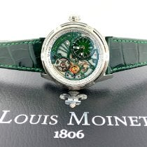 Louis Moinet Steel 44mm Automatic LM-50.10.31 new