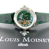 Louis Moinet Acero 44mm Automático LM-50.10.31 nuevo