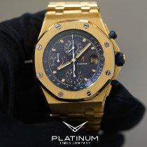 Audemars Piguet Royal Oak Offshore Chronograph Gelbgold 42mm Blau