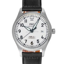 IWC Pilot Mark Steel 40mm White Arabic numerals United States of America, Maryland, Baltimore, MD
