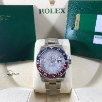 Rolex GMT-Master II Λευκόχρυσος