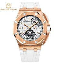 Audemars Piguet Royal Oak Offshore Tourbillon Chronograph Pозовое золото 44mm Cеребро