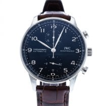 IWC Portuguese Chronograph IW3714-38 2010 pre-owned