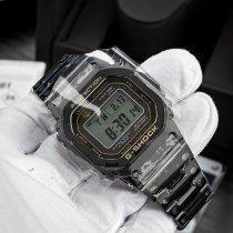 Casio G-Shock Titanium Black Arabic numerals