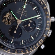Omega Speedmaster Professional Moonwatch Acier 42mm Noir Sans chiffres France, Puteaux