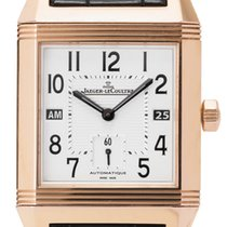 Jaeger-LeCoultre 230.2.77 Rose gold 2008 Reverso Squadra Hometime 36mm pre-owned