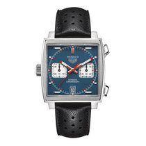 TAG Heuer new Automatic Display Back Luminescent Hands Luminous indexes 39mm Steel Sapphire crystal
