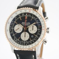 Breitling Navitimer 01 (46 MM) Gold/Steel 46mm Black No numerals