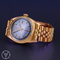 Rolex Or rouge Remontage automatique Bleu 36mm occasion Day-Date 36