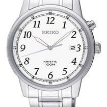 Seiko Kinetic Steel 40mm White