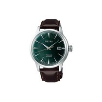 Seiko Presage Steel 40.5mm Green No numerals