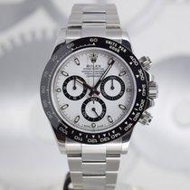Rolex Daytona Acier 40mm Blanc Sans chiffres France, Cannes