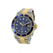 Rolex Submariner Date Or/Acier 40mm Bleu Sans chiffres France, Bordeaux