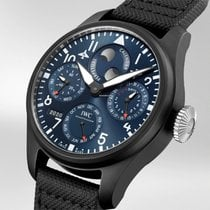 IWC Ceramic Automatic Blue 46.5mm new Big Pilot