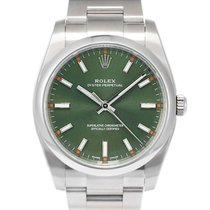 Rolex Oyster Perpetual 34 Acero 34mm Verde