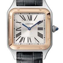 Cartier Santos Dumont new Quartz Watch with original box and original papers W2SA0012