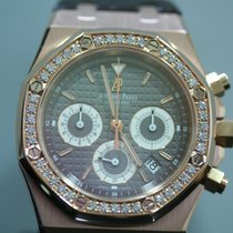 Audemars Piguet Royal Oak tweedehands Leer