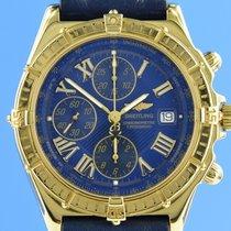 Breitling K13055 Желтое золото 2001 Crosswind Racing 44.5mm подержанные