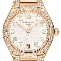 Patek Philippe Twenty~4 Růžové zlato 36mm Stříbrná Arabské