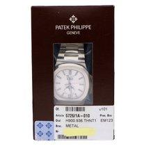 Patek Philippe Nautilus Acier 40.5mm Blanc Sans chiffres