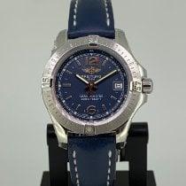 Breitling Colt Lady Сталь 33mm Синий