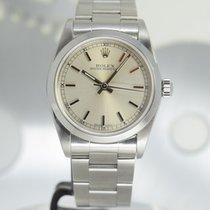 Rolex Oyster Perpetual 31 Steel 31mm Silver Arabic numerals