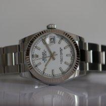 Rolex Lady-Datejust Acier 31mm Blanc France, Thonon les bains