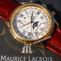 Maurice Lacroix Les Classiques Phases de Lune Gold/Steel 37,5mm White Roman numerals