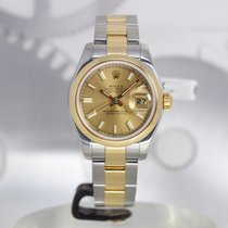 Rolex Lady-Datejust Or/Acier 26mm Champagne France, Cannes
