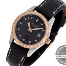 Longines Conquest Classic Gold/Steel 29.5mm Black No numerals United States of America, Pennsylvania, Willow Grove
