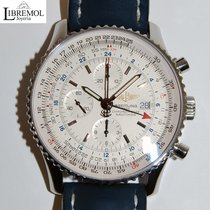 Breitling Navitimer World Acero 46mm Blanco Sin cifras España, Madrid