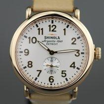 Shinola Steel 41mm Quartz S01 001 06959 new