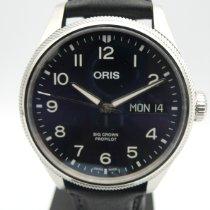 Oris Big Crown ProPilot Day Date Steel 44mm Blue Arabic numerals