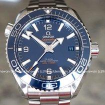 Omega Seamaster Planet Ocean Stål 43.5mm Blå Arabisk