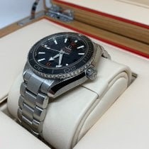 Omega Seamaster Stål 42mm Sort Arabertal