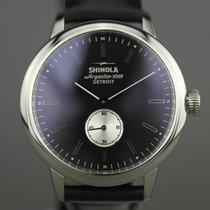 Shinola Steel 41mm Quartz S01 005 00445 new
