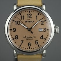 Shinola Steel 41mm Quartz S01 006 00 1XX new