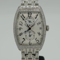 Franck Muller Master Banker Steel 33mm Silver Arabic numerals United States of America, California, Marina Del Rey