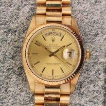 Rolex Day-Date 36 Zuto zlato 36mm Zlatan Bez brojeva