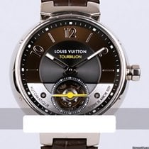 Louis Vuitton Q10613 Very good White gold 44mm Automatic