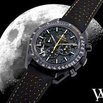 Omega Carbone Remontage manuel Noir Sans chiffres 4.25mm nouveau Speedmaster Professional Moonwatch
