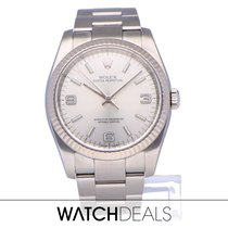 Rolex Oyster Perpetual 36 Steel 36mm Black Arabic numerals