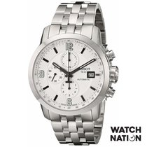 Tissot Silver Automatic White Arabic numerals 44mm new PRC 200