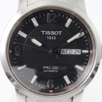 Tissot PRC 200 Steel 40mm Black Arabic numerals